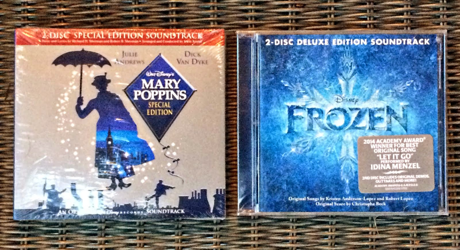 Enter to Win Frozen or Mary Poppins Sountrack
