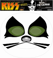 KISS - Catman Temporary Face Makeup