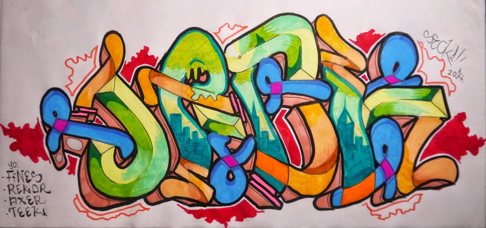Graffiti Blackbook Sketch Unexpected Gift