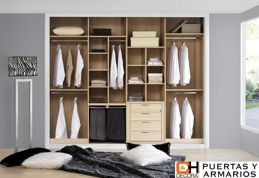 La distribuci n del interior de armario ch decora puertas cocinas y armarios en madrid - Zapatero interior armario ...