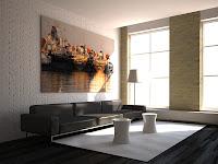 3d model interior vray