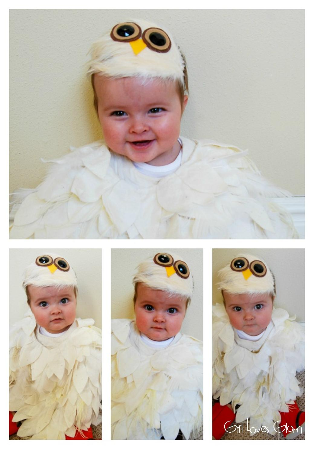 No sew baby owl costume girl loves glam solutioingenieria Gallery