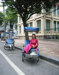 Cyclos in Hanoi