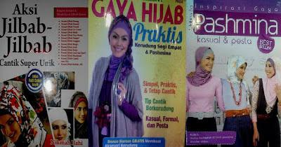 panduan dalam berkreasi jilbab
