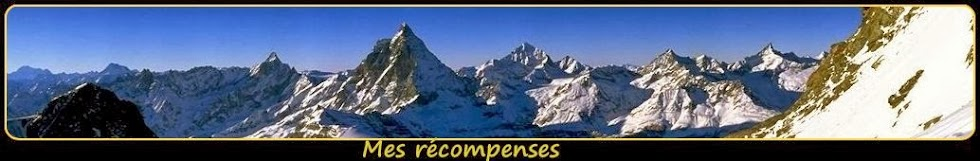 ➽ les récompenses de Blogmontagne ~