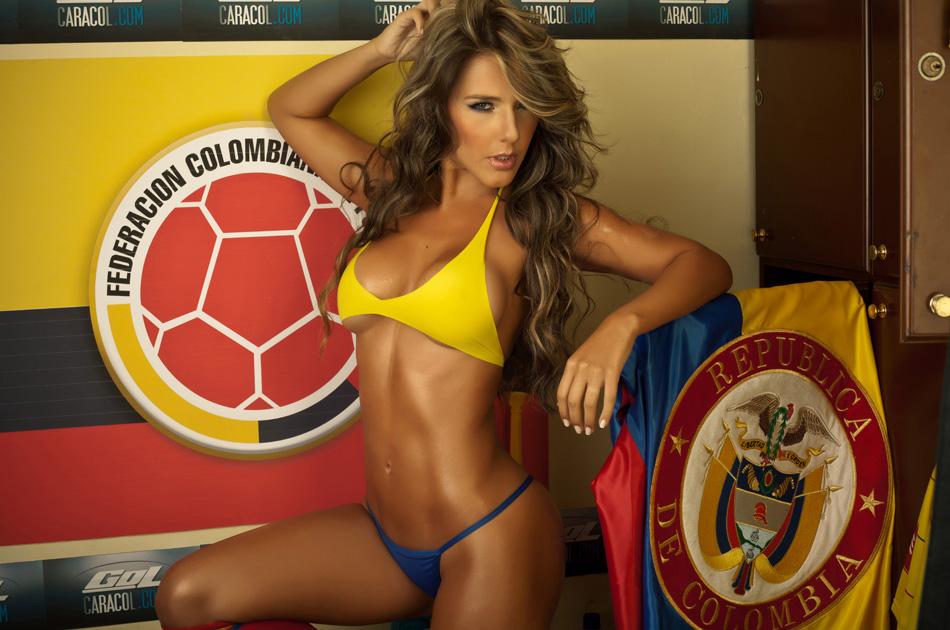 Hot chica de colombia