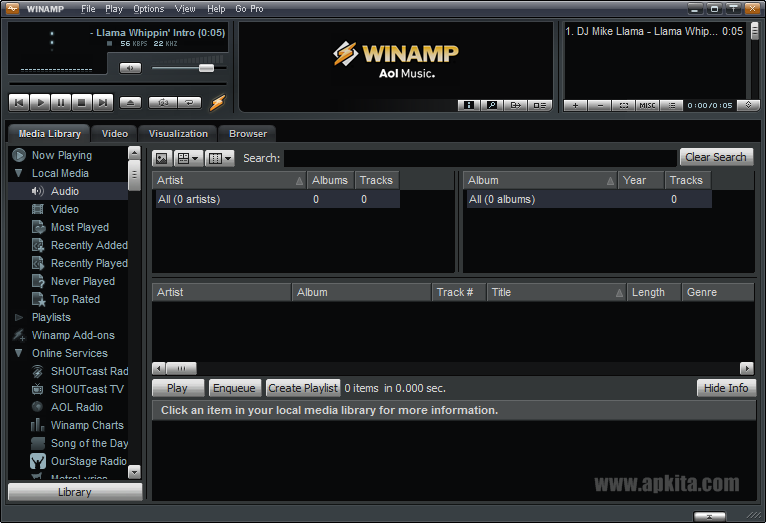 Winamp Pro 5.666 Build 3516 Full Version Terbaru