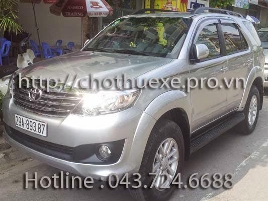 Cho thuê xe ô tô 7 chỗ theo tháng dài hạn tại Hà Nội