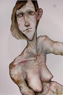 victor otero carbonell retrato rosa