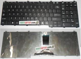 Keyboard Toshiba C650 C660 C665 L675 L650 L670 Numerik