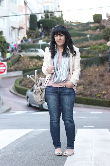 San Francisco Lombard Street Fashion