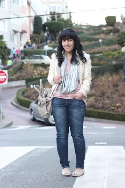 San Francisco Lombard Street Fashion