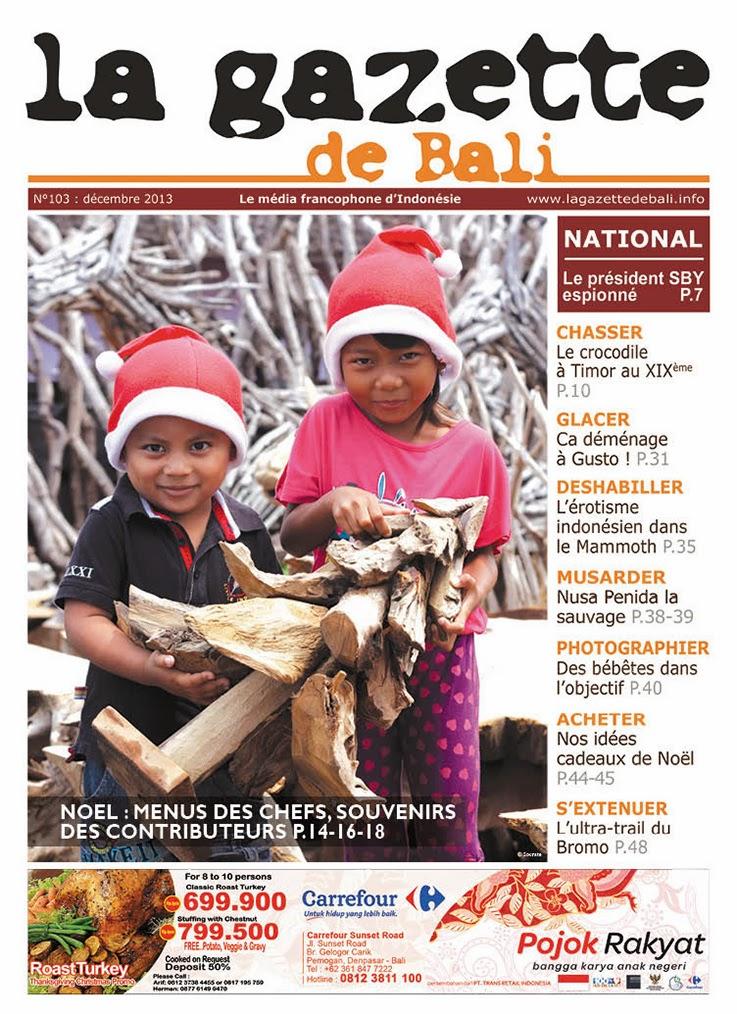 La Gazette de Bali décembre 2013