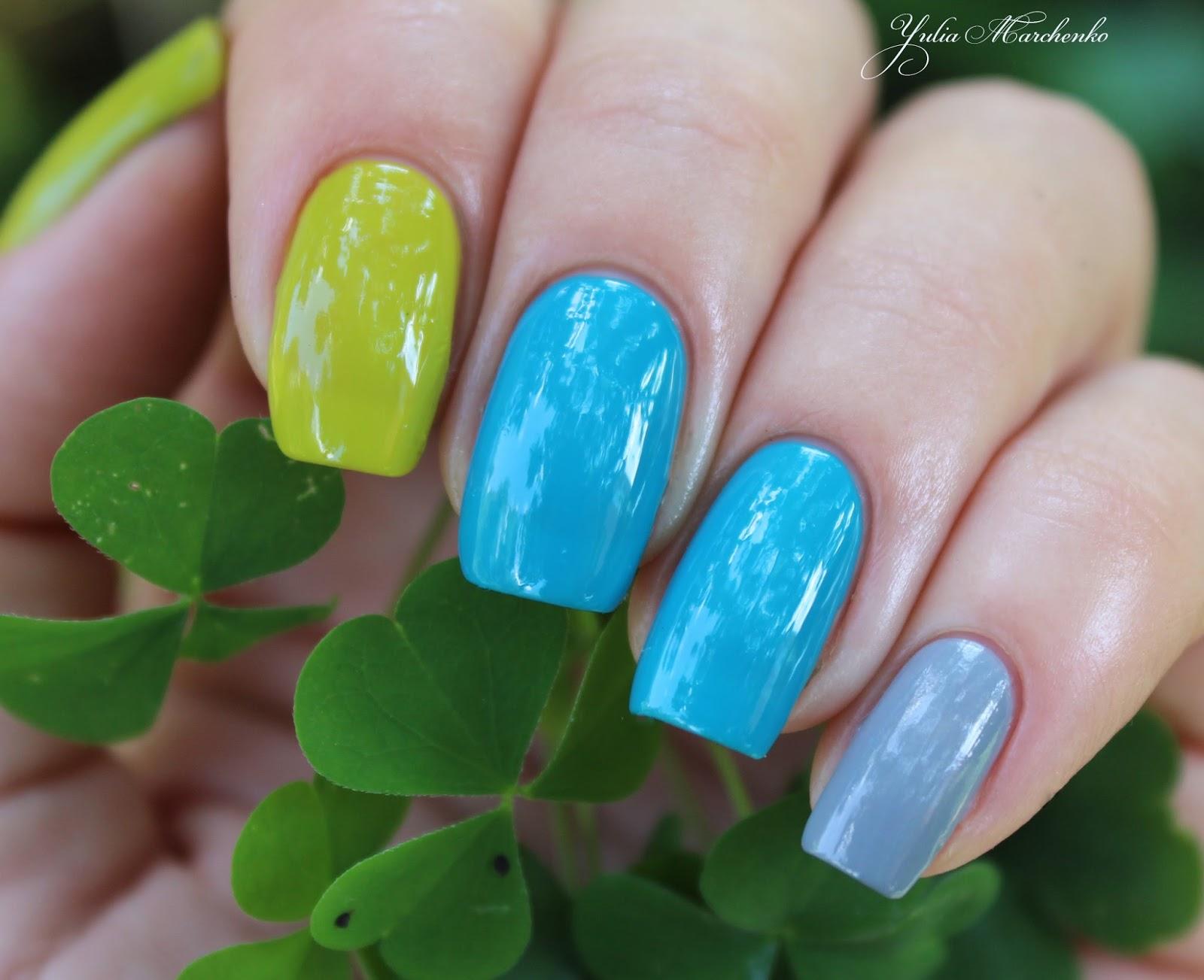Сочетания цветов в лаках для ногтей