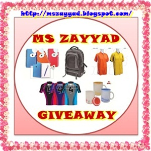First MS ZAYYAD Giveaway
