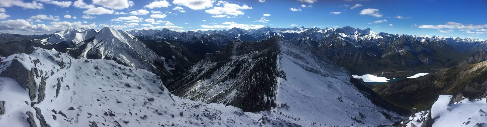 Looking west from South Baldy, Kananskis Country