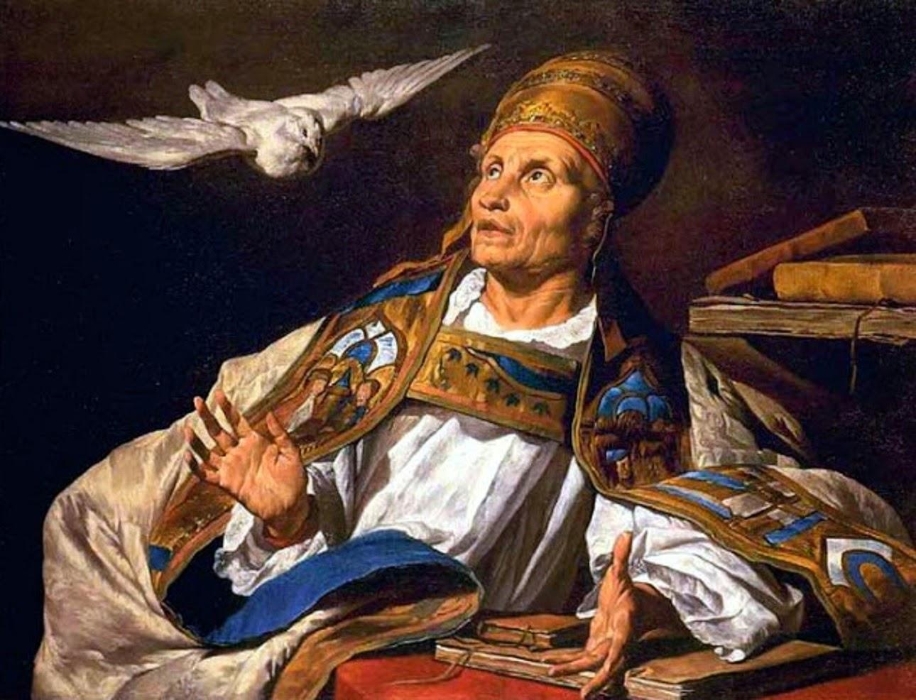 San León Magno, papa († 461) Gregorio+magno