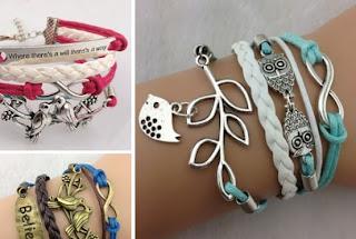 toAdorn handcrafted layered bracelets