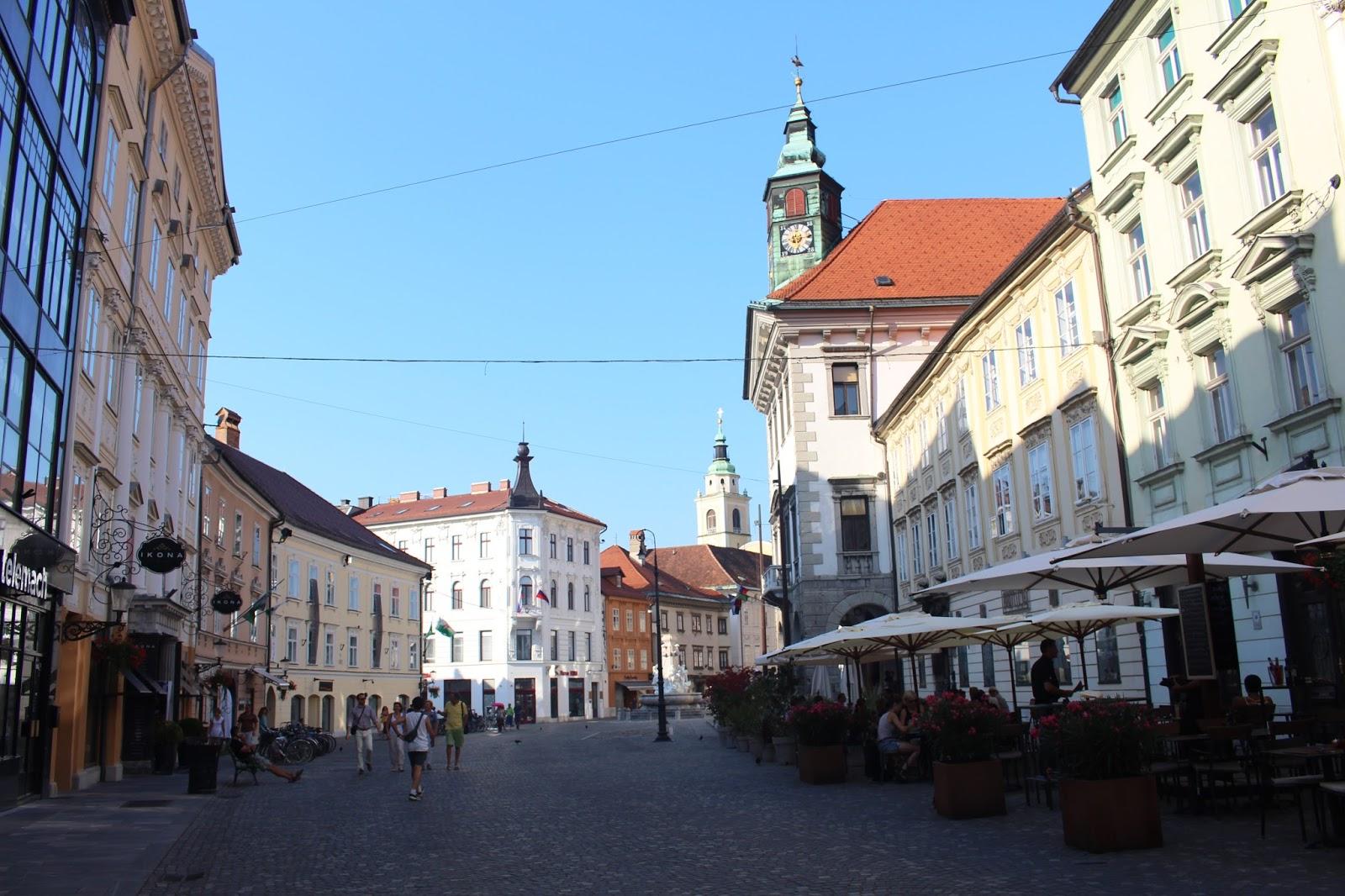 Ljubljana street photo