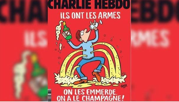 Charlie Hebdo ironiza atentados em Paris