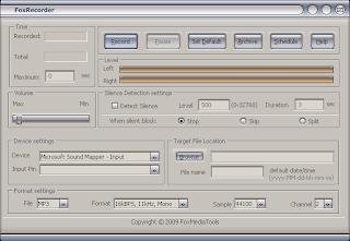 تحميل برنامج تسجيل الصوت FoxRecorder 3.5.0