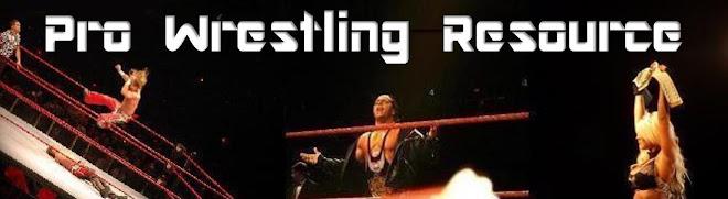 Pro Wrestling Resource