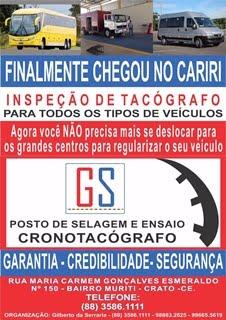 GS POSTO DE SELAGEM E ENSAIO CRONOTACÓGRAFO