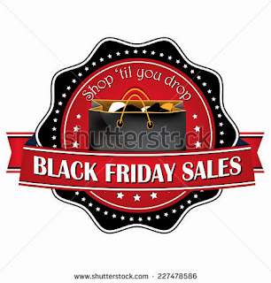 Black Friday label for printing, black friday sticker