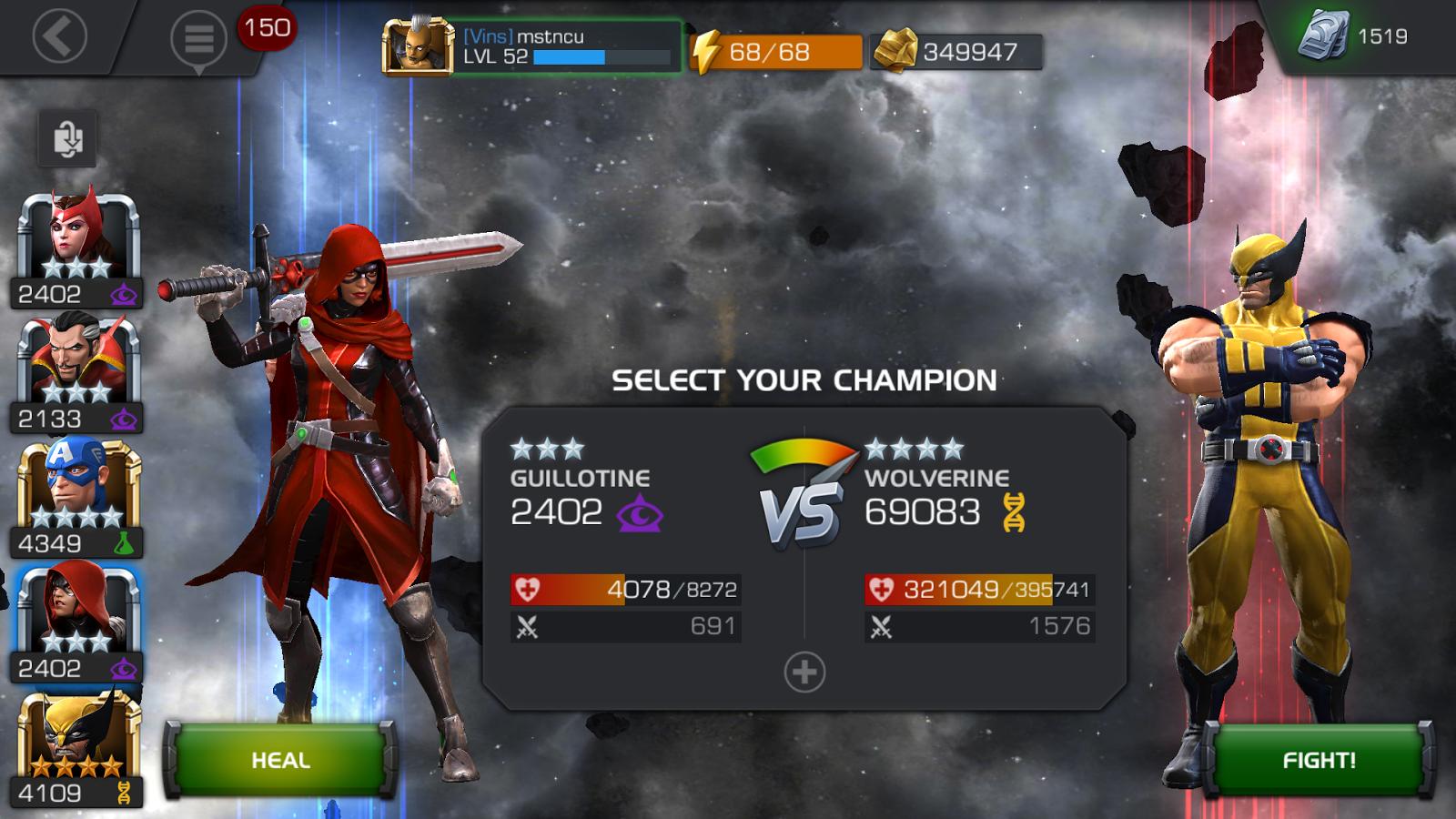 will champion setup