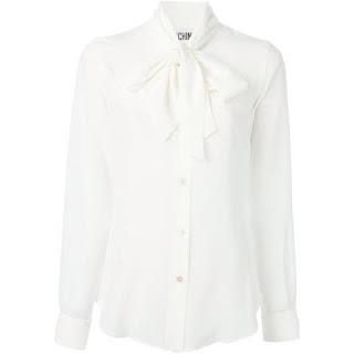 moschino camisa branca