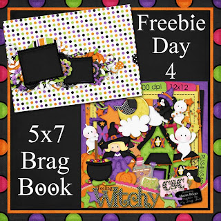 Feeling Witchy 5x7 Brag Book Freebie Day 4