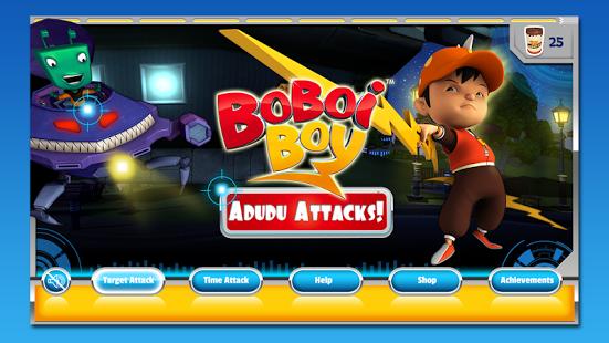 BoBoiBoy Adudu Attacks Apk