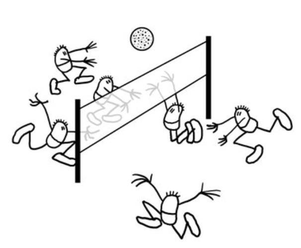 Antoinette Odela Volleyball