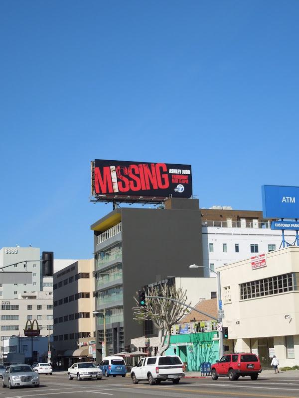 Missing ABC billboard