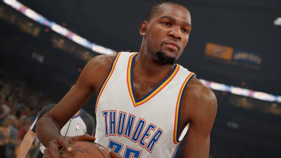NBA 2K15 Top 10 Highest Rated Players