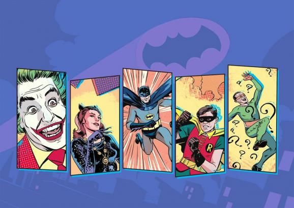 batman comics 60´s tv show