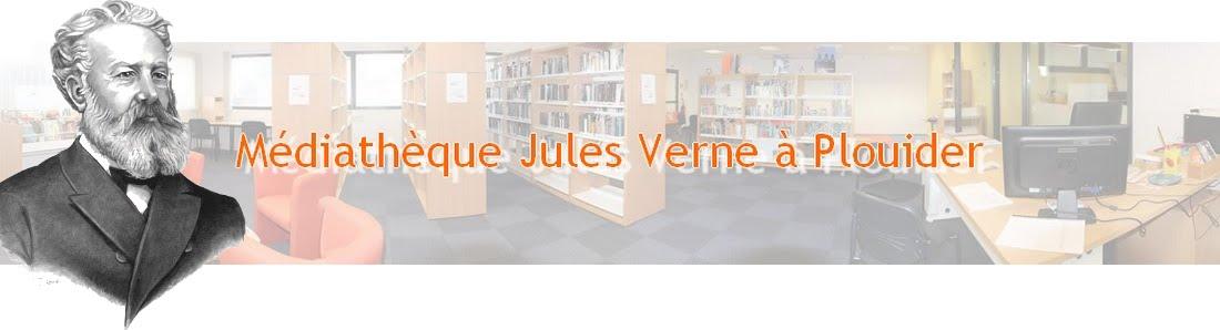 Médiathèque Jules Verne à Plouider