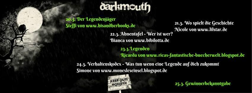 """Blogtour """"darkmouth"""""""