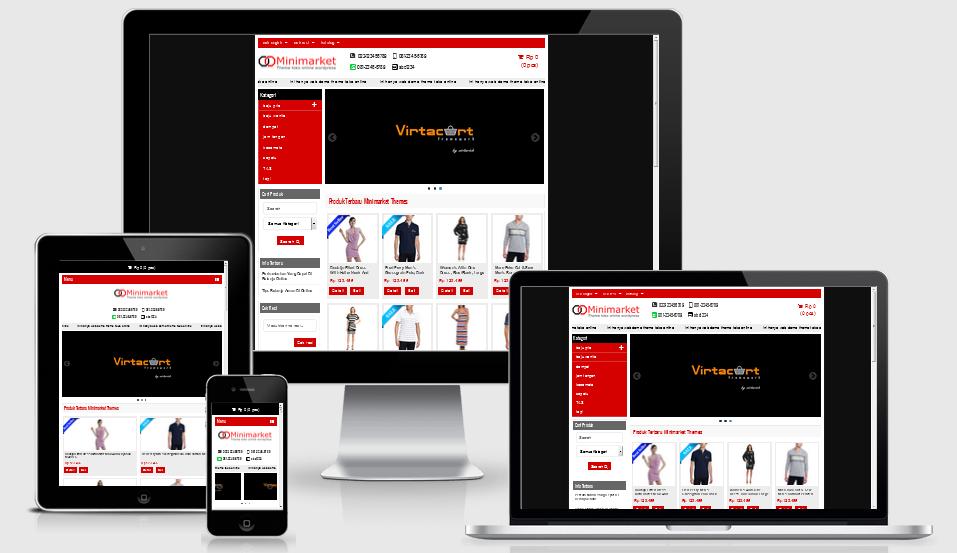 Download Theme Template Toko Online Minimarket Terbaru Lengkap