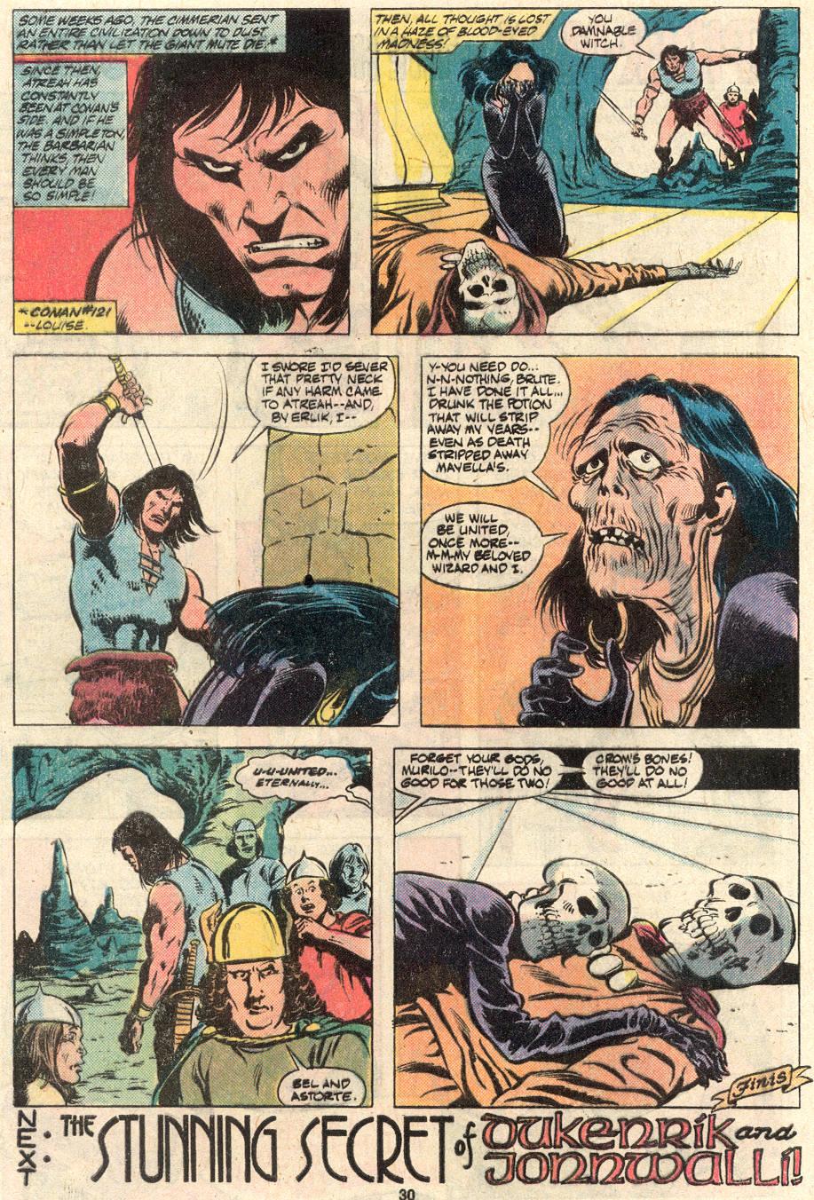 Conan the Barbarian (1970) Issue #124 #136 - English 23