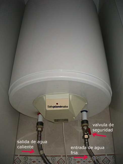Bricolaje y modelismo calentador de agua electrico for Mueble para calentador de agua