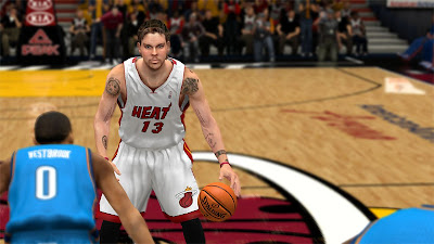 NBA 2K13 Mike Miller Cyberface Update New Hair
