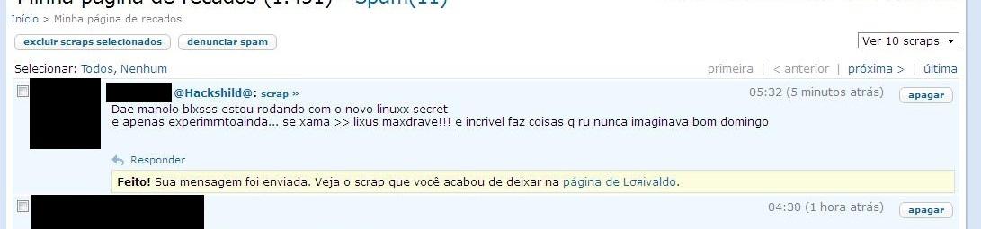 usuario linux portugues ruim