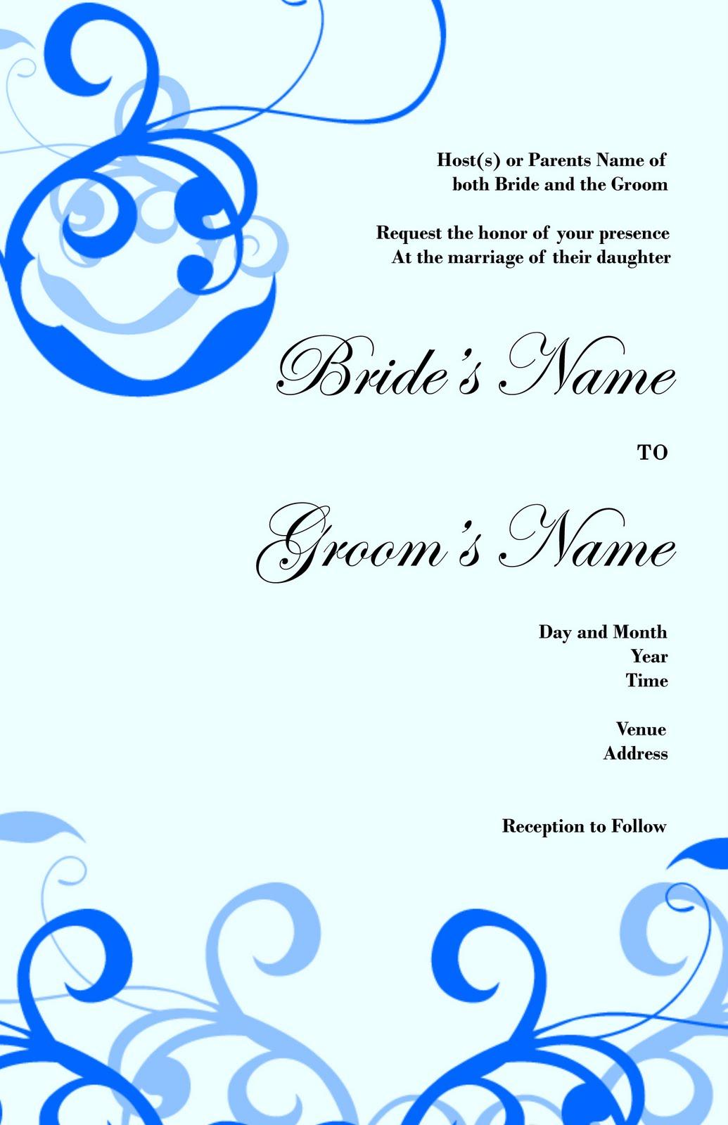 beautiful wedding invitations for free wedding invitation design 840