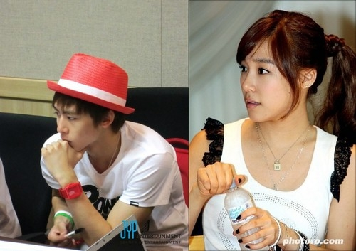 Nichkhun tiffany dating