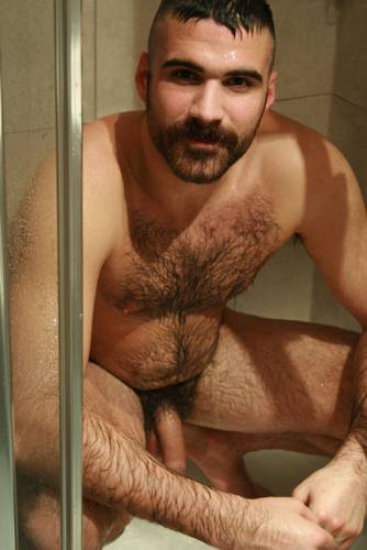 hairy men Beautiful naked