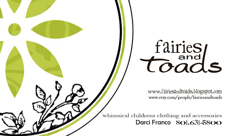 Fairies and Toads