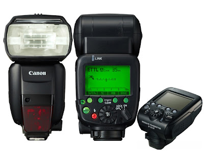 Canon Flash 600 EX RT and Speedlite ST E3 RT