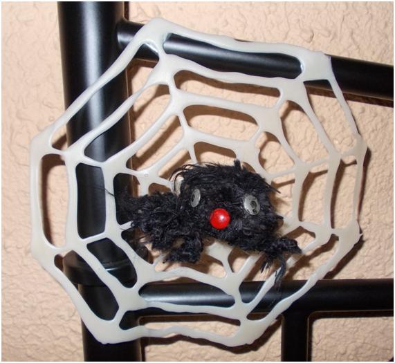 El universo de sassenach tela de ara a para halloween - Como hacer tela de arana ...
