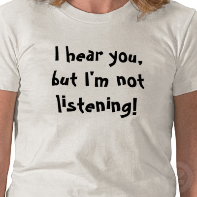 how to understand the audience listening or not
